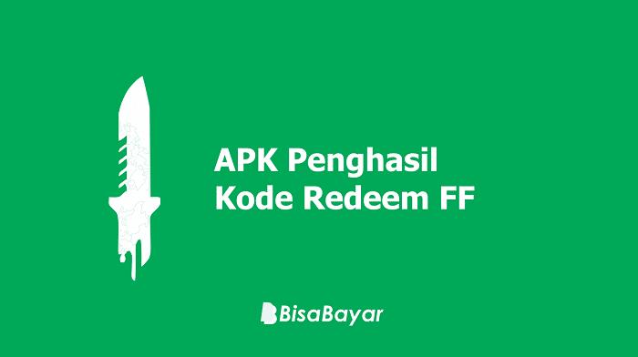 APK Penghasil Kode Redeem FF