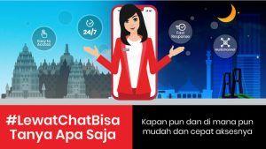 Tanya Veronika Asisten Virtual untuk Pelanggan Telkomsel